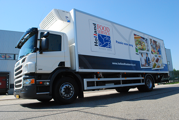 Holland Food Service vrachtwagen